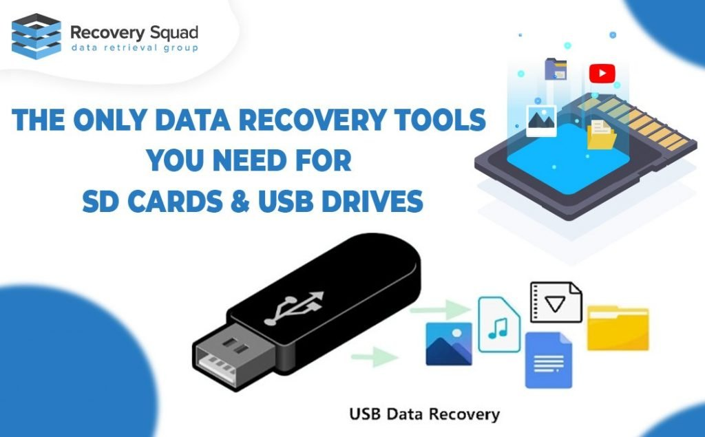 the only Recover Tools You Need For SD Cards & USB Drives