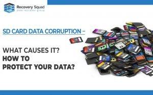 SD Card Data Corruption