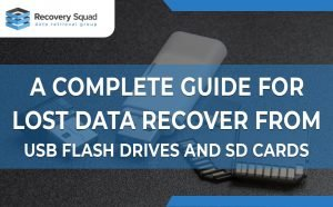 A Complete Guide For Lost Data Recover From USB Flash Drives And SD Cards