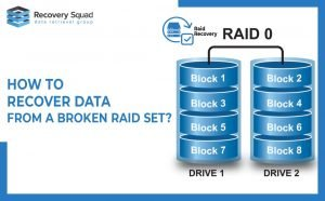 How to Recover Data From A Broken Raid sets