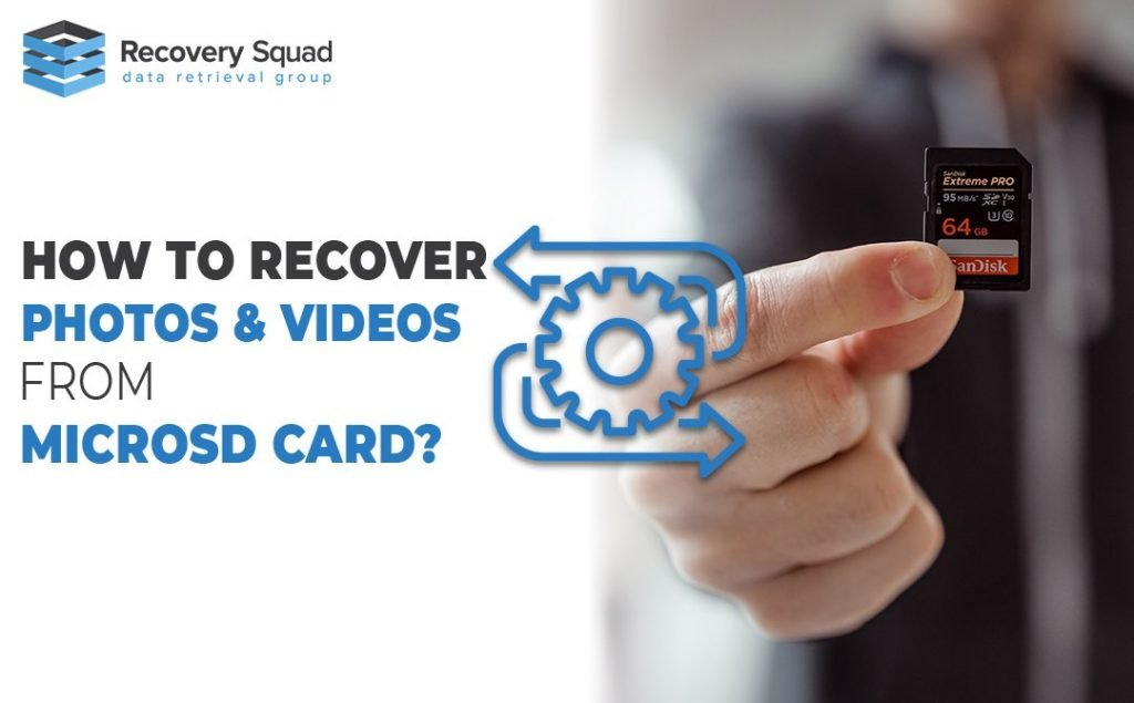 How to Recover Photos & Videos From MicroSD Card