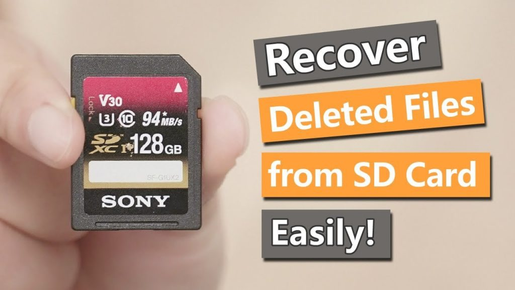 How to recover deleted files form SD card on Mac