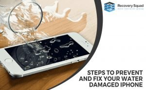 Steps To Prevent And Fix Your Water Damaged iPhone