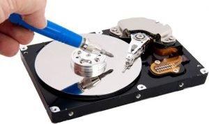 crashed hard drive