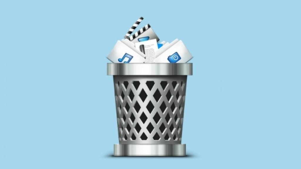 deleted folders from recycle bin