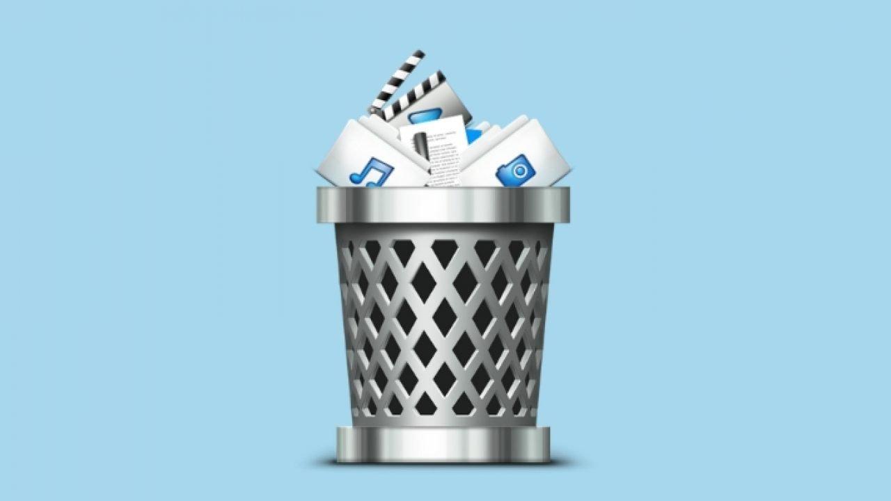 deleted folders from recycle bin