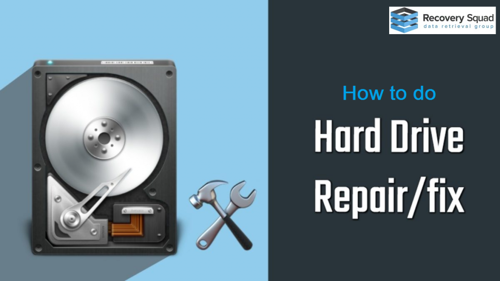 How to do hard drive repair?