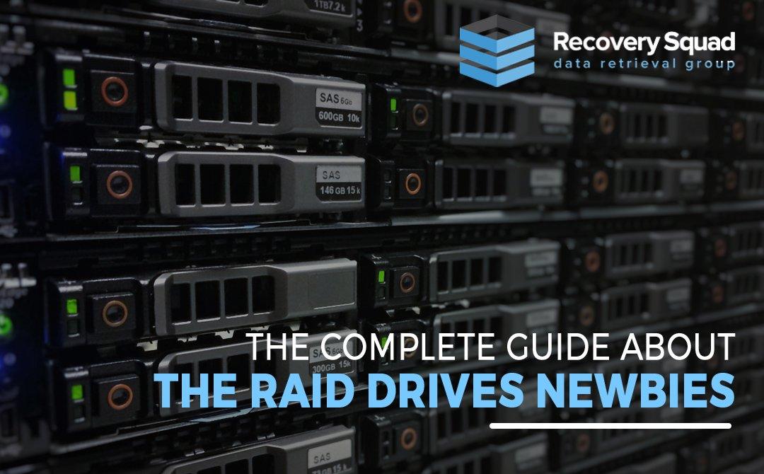 Raid drive newbies
