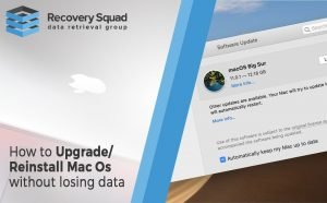 How to upgrade Mac OS Without Losing Data