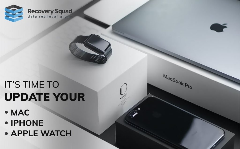 Update Your iPhone, Mac, and Apple Watch