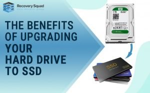 Upgrading to HDD to SDD