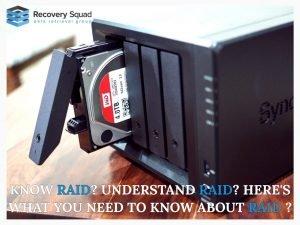 Why use RAID for Backups?