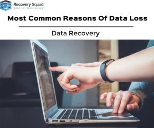most common reasons of data loss