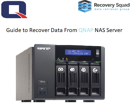 Guide to Recover Data From QNAP NAS Server